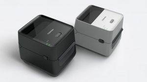 Impresoras Toshiba Tec FV4 negra y gris