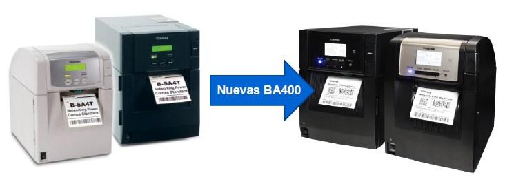Próximamente las Impresoras BA400 Sustituirán a las BSA4